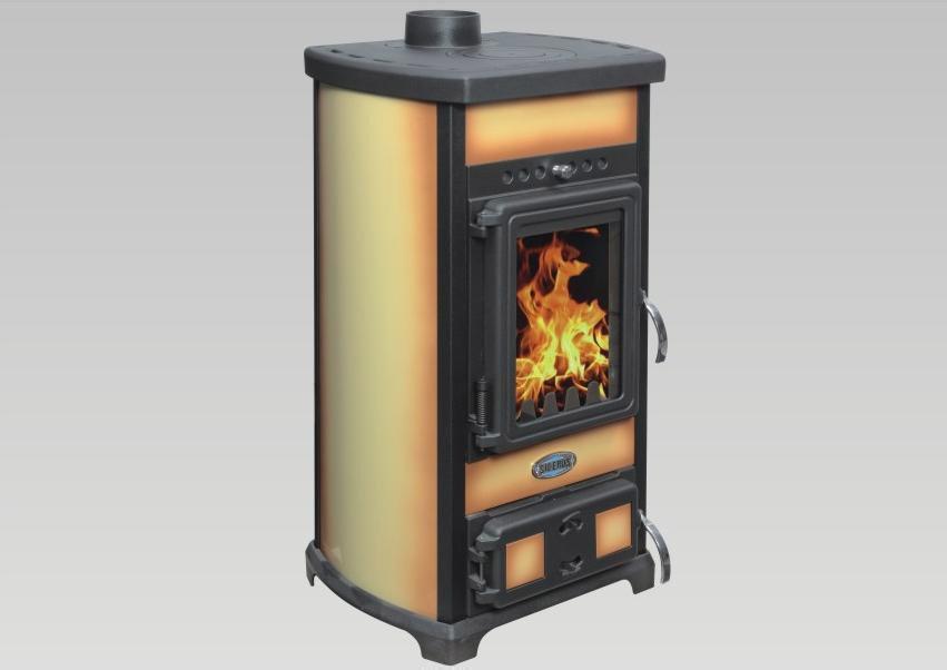Stufa legna con forno sideros modello TIFFANY FORNO