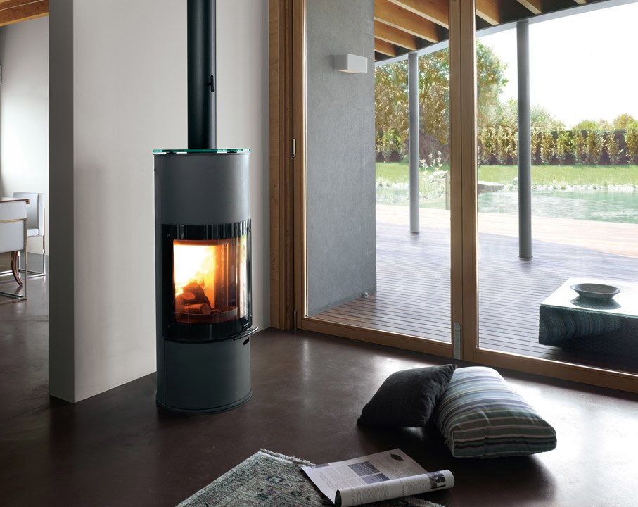 casa moderna roma italy stufe combinate legna pellet