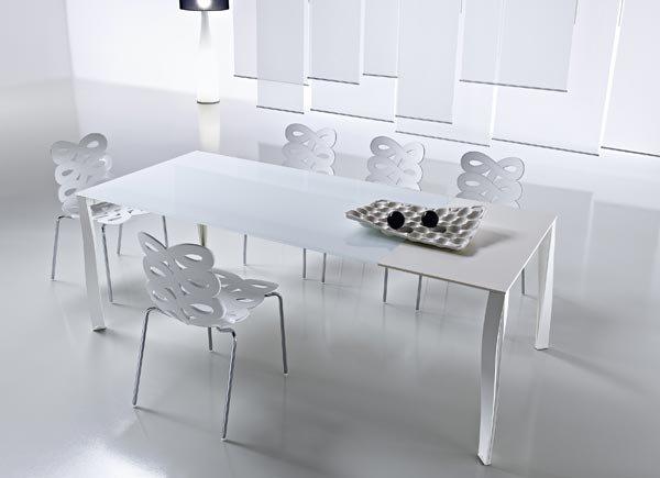 Tavoli tavolo diapason da ciacci group for Tavoli bianchi