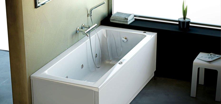 Vasche idromassaggio vasca idromassaggio connect da ideal for Vasca ideal standard