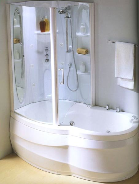 Immagini Doccia Insieme: Vasca e doccia insieme colori ...