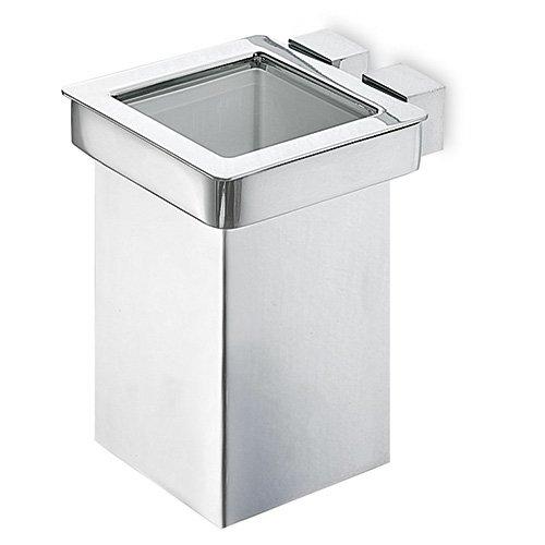 Accessori bagno porta spazzolino corner da open kristallux - Spazzolino bagno ...