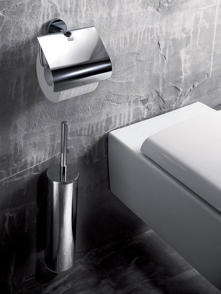 Accessori bagno porta rotolo gealuna da inda for Accessori bagno inda