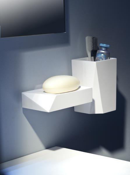 Accessori bagno: Porta sapone Freeze da Bertocci