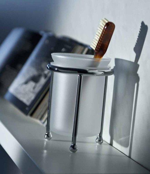 Accessori bagno: Porta spazzolino Scacco da Bertocci