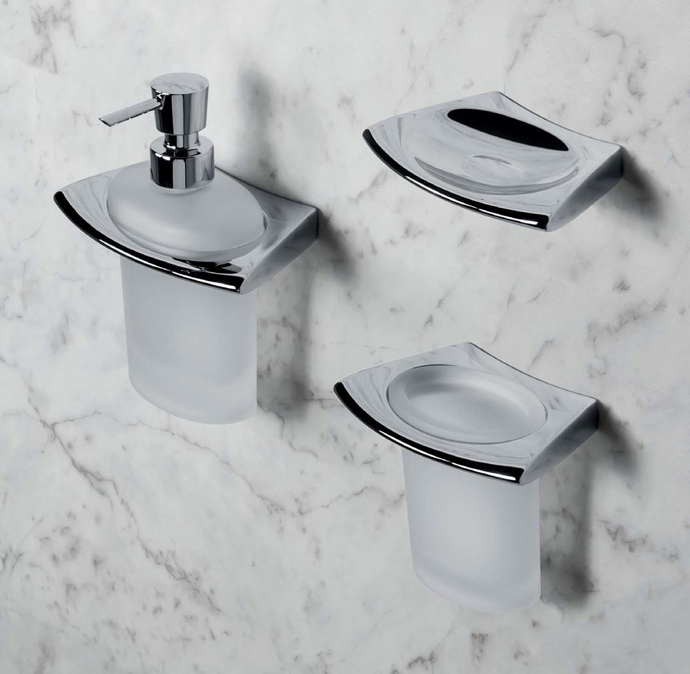 Accessori bagno dispenser land da colombo design - Colombo accessori bagno ...