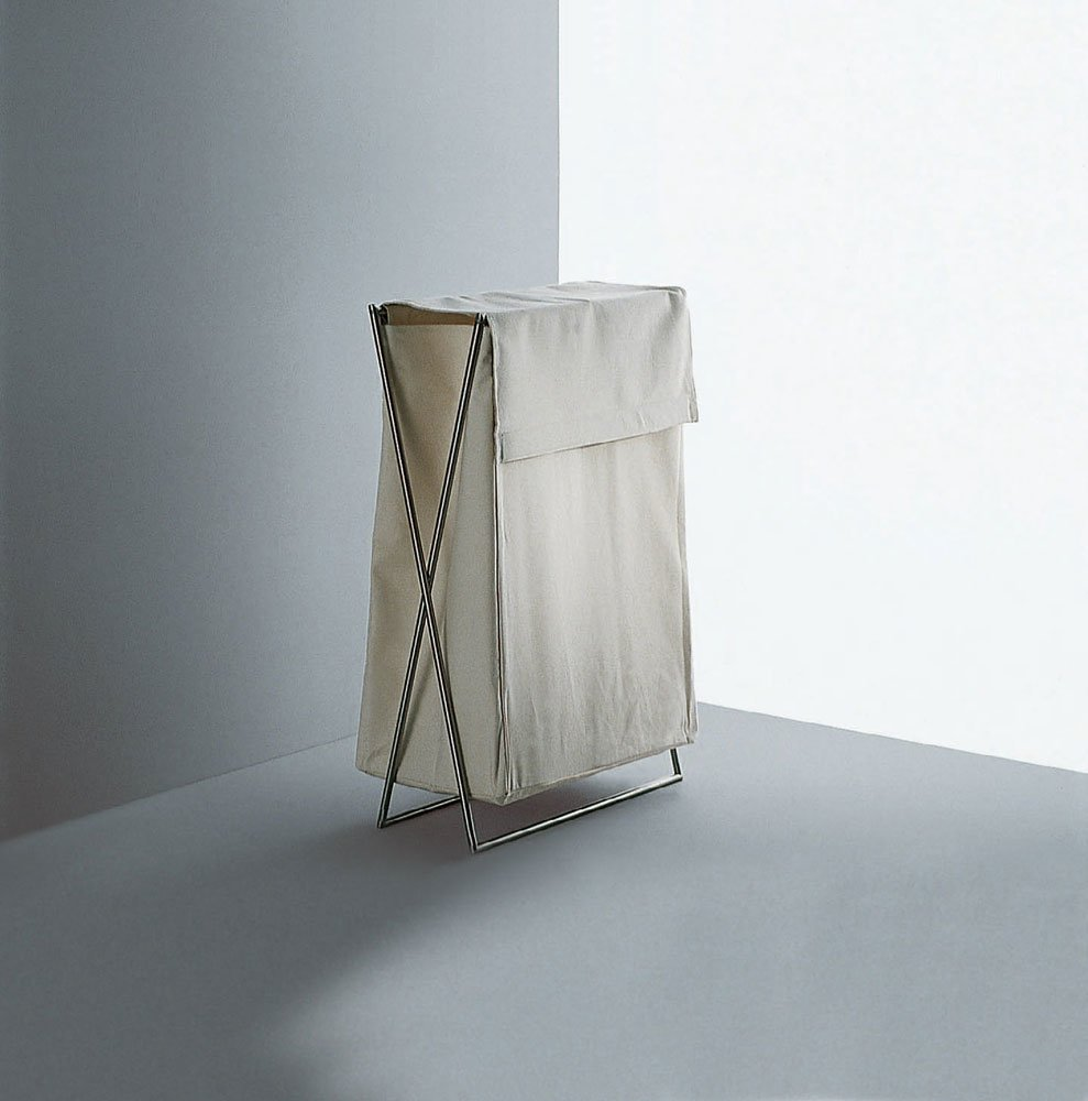 Accessori bagno porta biancheria minimal da boffi bathrooms for Salvioni arredamenti lentate