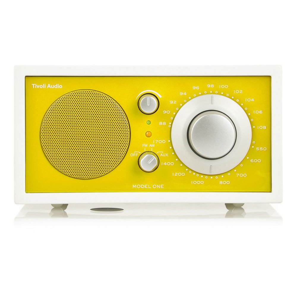 High-Tech Design Accessories: Radio Model One Frost White ...