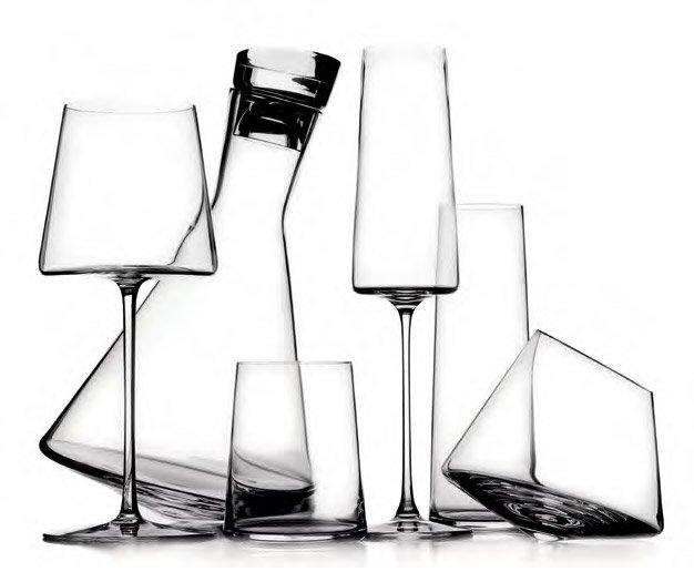 Bicchieri da tavola servizio manhattan da ichendorf milano - Disposizione bicchieri in tavola ...