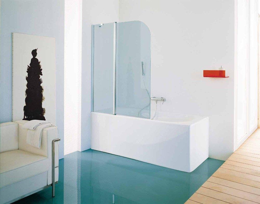 Box doccia parete vasca electra da samo - Vasca da bagno ikea ...