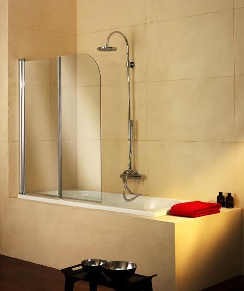 Parete Vetro Vasca Bagno: Novellini gt aurora parete per vasca da ...