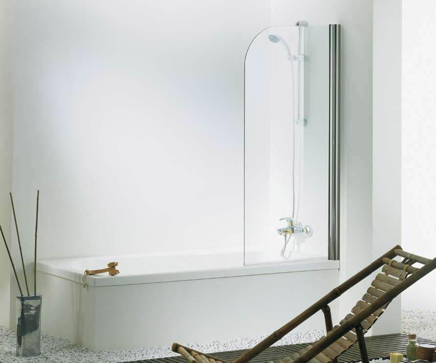 Box doccia parete vasca omega da tda - Box doccia vetrocemento ...