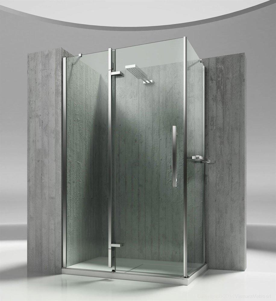 Box doccia box doccia tiquadro qa qf da vismaravetro - Box doccia parma ...