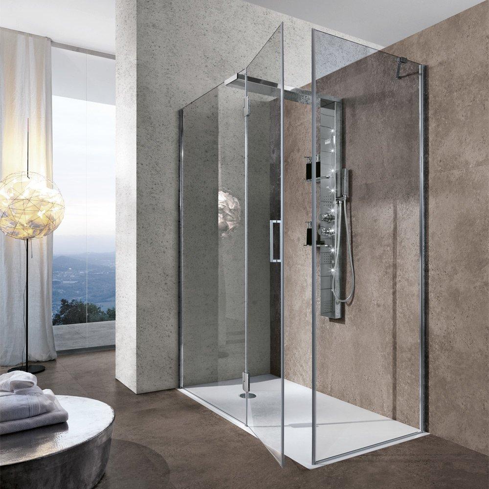 Cabine doccia cabina doccia bristol box da hafro - Box doccia parma ...