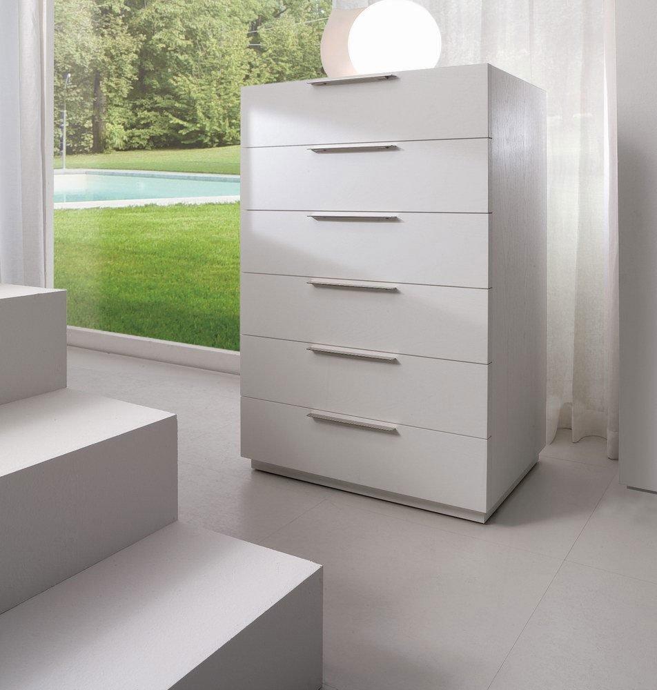 Cassettoni cassettiere settimanale box white natura da la for Cassettiere design outlet
