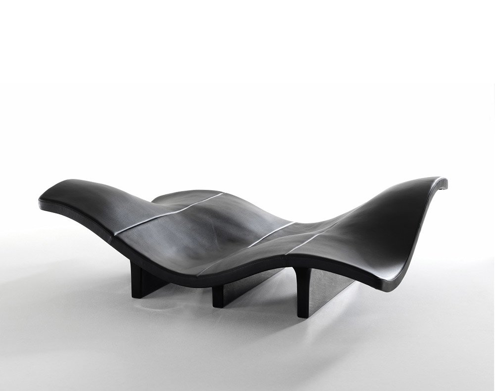 Chaise longue chaise longue waves by erik j rgensen for Chaise longue wave