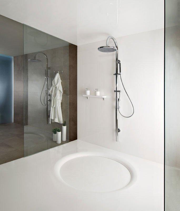Shower Columns: Shower Panel Goccia By Gessi
