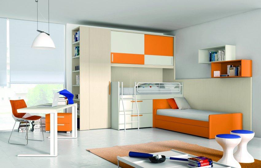 Camerette composizione ponte 02 da nardi interni - Ikea bari camerette ...