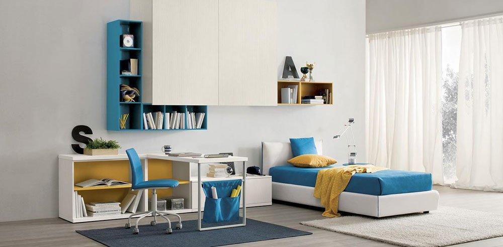Camerette composizione globo vega 007 da gruppo spagnol for Ingrosso mobili trento