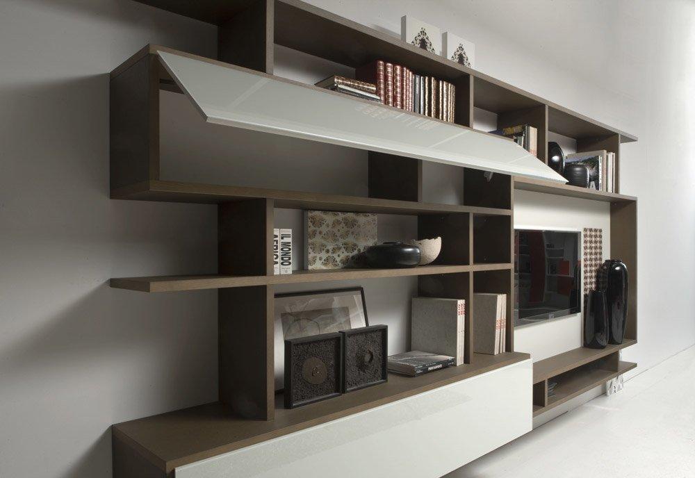 Composizioni soggiorno composizione set system a da former for Composizioni soggiorno design