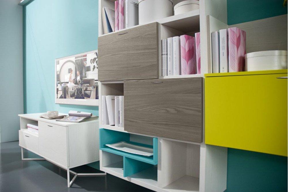 Composizioni soggiorno composizione 7ff5190 da mobilstella for Composizioni soggiorno design