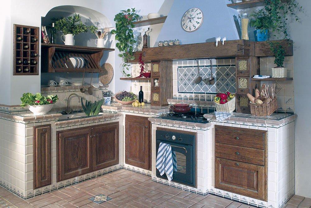 Cotto collezione versilia da cotto nettuno - Decori per cucine in muratura ...