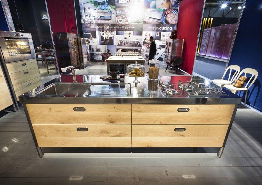 Cucine free standing cucina f da alpes inox for Designbest outlet