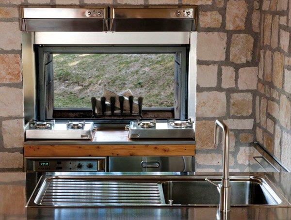 Cucine free standing cucina i da alpes inox - Cucina freestanding ...