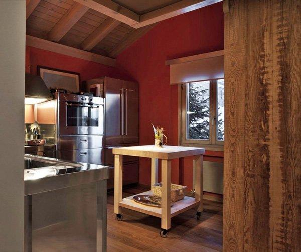 Cucine free standing cucina n da alpes inox - Cucina freestanding ...