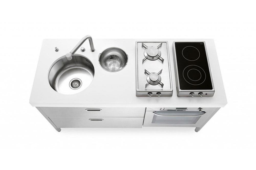 Emejing Cucine Alpes Inox Prezzi Photos - ubiquitousforeigner.us ...