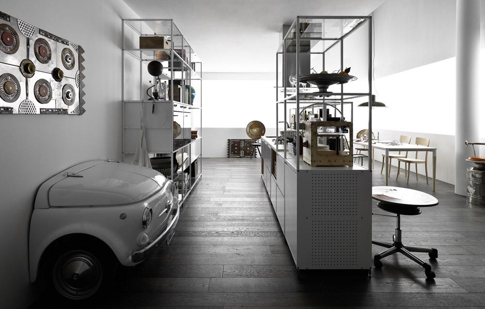 valcucine freistehende k chen k che meccanica a designbest. Black Bedroom Furniture Sets. Home Design Ideas