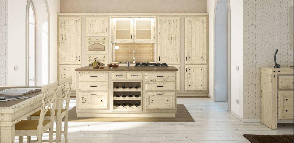 Cucine in muratura cucina giulietta d da zappalorto for Designbest outlet