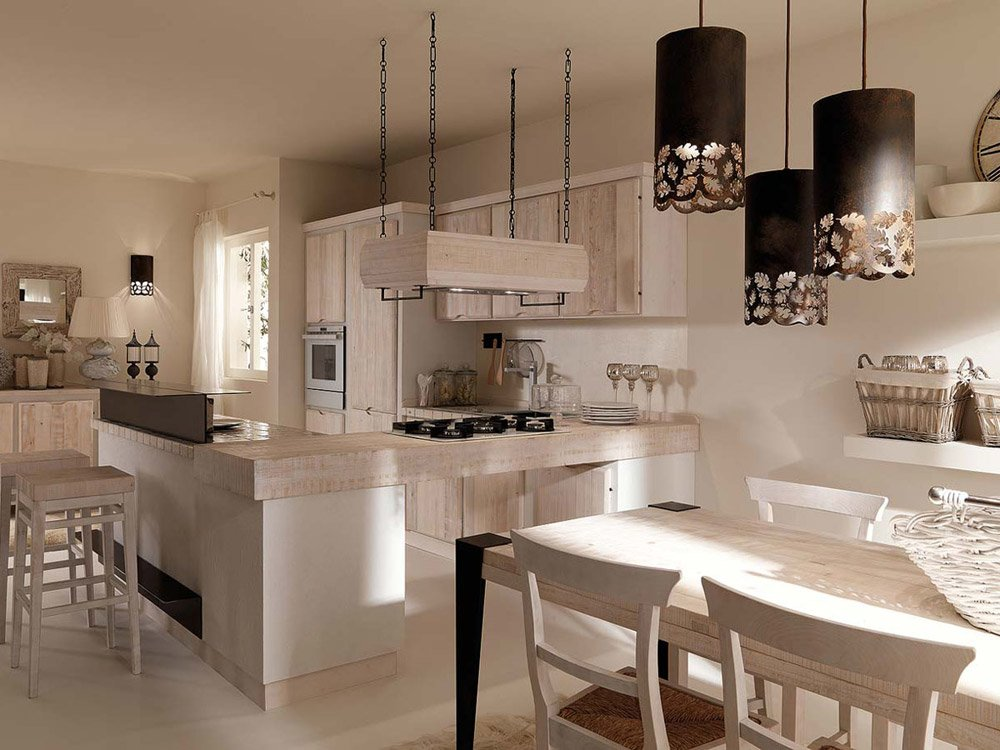 Cucine in muratura cucina crete senesi a da zappalorto for Cucine in muratura