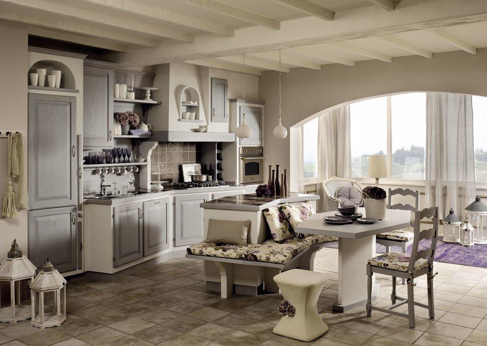 Cucine in muratura cucina sogno di oggi b da zappalorto for Casa classica toscana srl