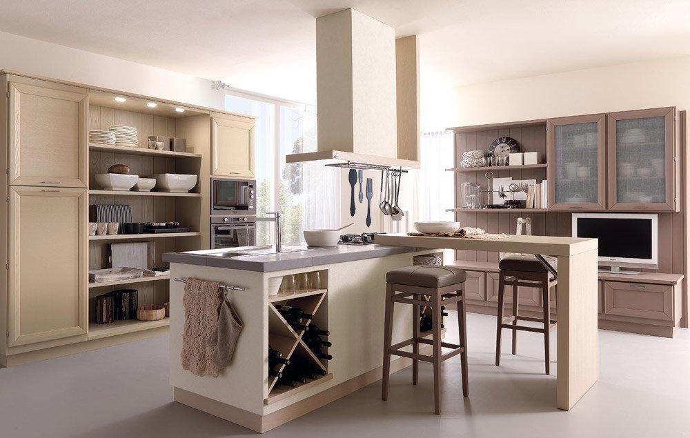 Cucine in muratura cucina cortigiana b da zappalorto for Designbest outlet