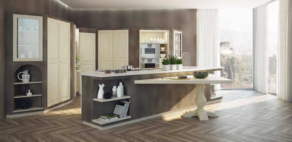Cucine in muratura cucina sogno di oggi a da zappalorto for Cucine muratura immagini