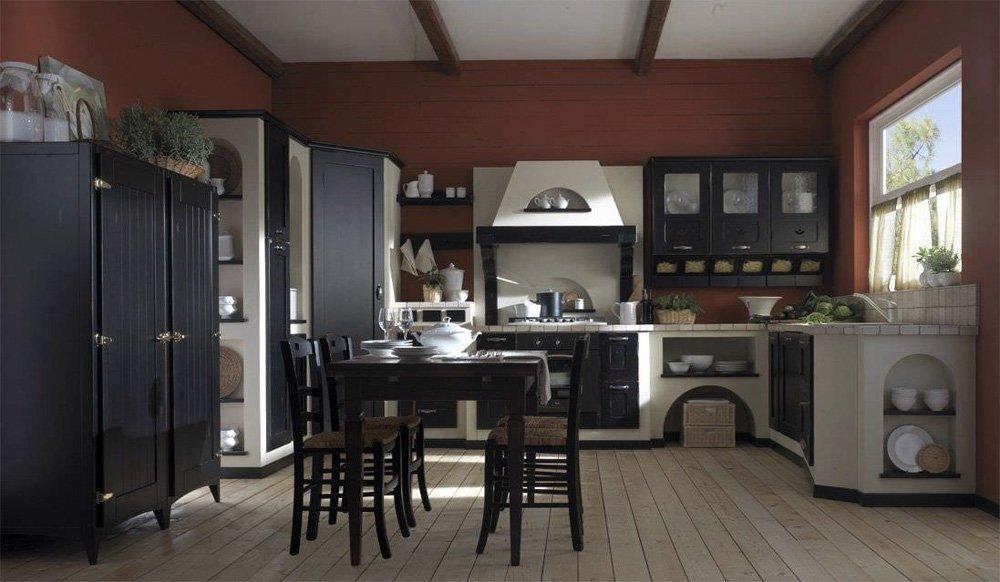 Cucine in muratura cucina rosalba a da gatto cucine - Cucine gatto catalogo ...