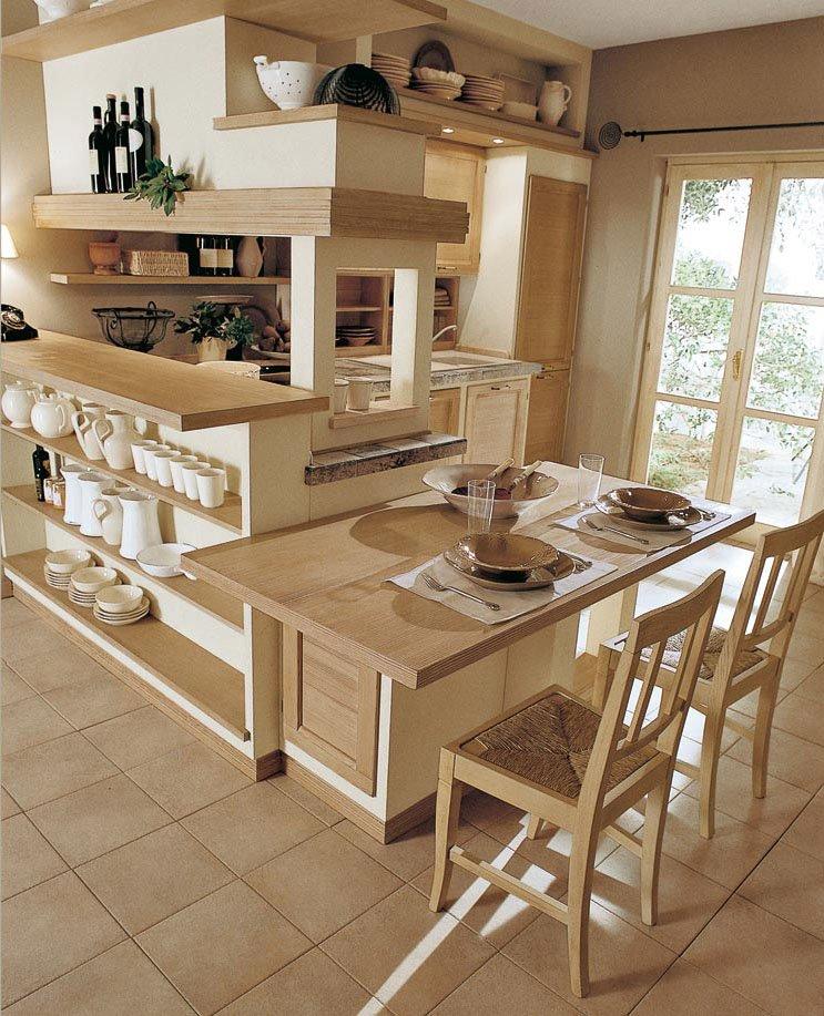 Cucine in muratura cucina le terre di toscana c da - Cucine rustiche toscana ...