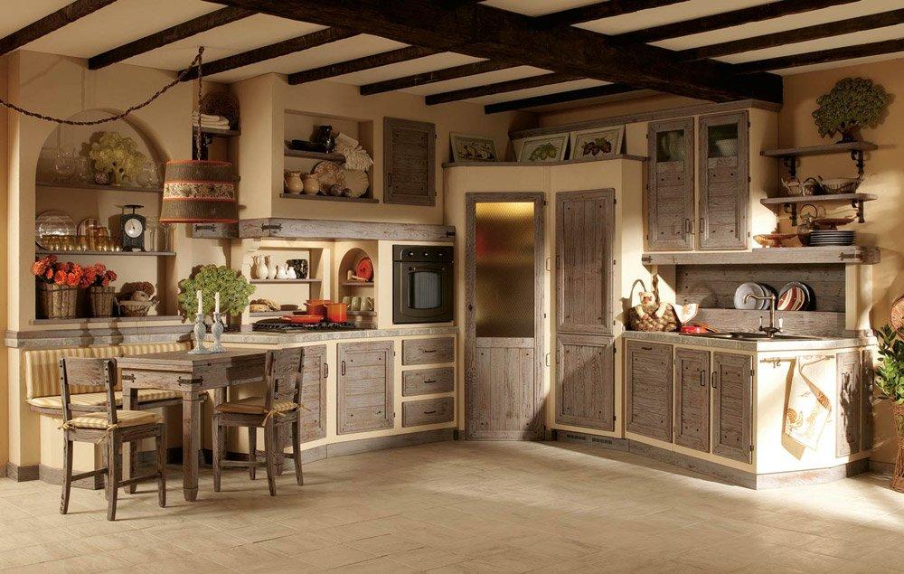 Cucine in muratura cucina giulietta b da zappalorto - Immagini cucine in muratura ...