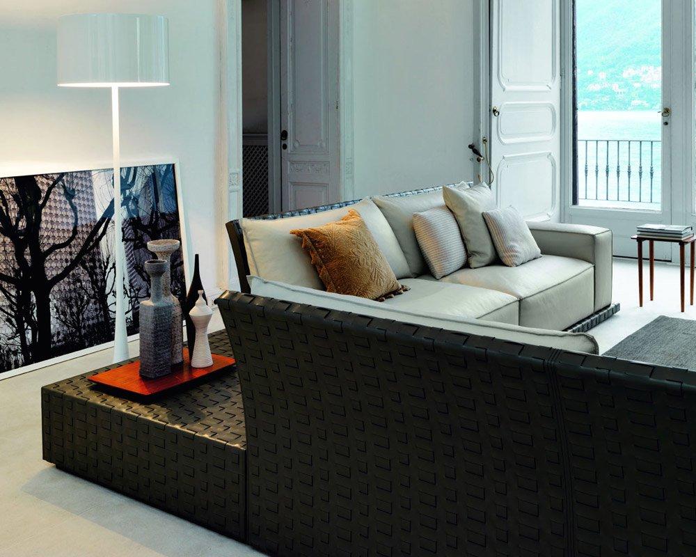 Divani con penisola composizione coc da doimo sofas for Divani trentino alto adige