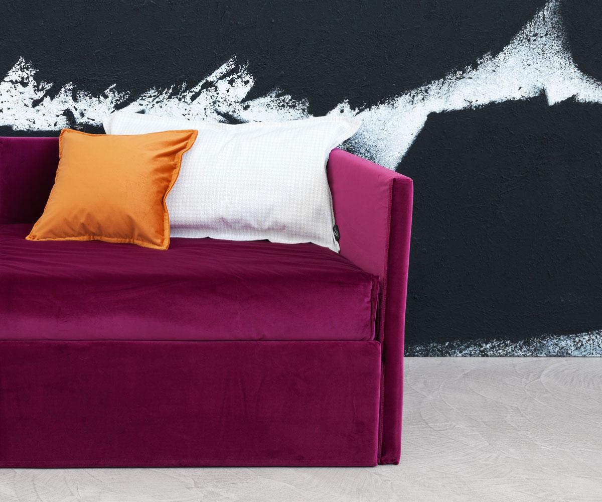 Divani letto divano letto gabriel duo da orizzonti italia for Divani trentino alto adige