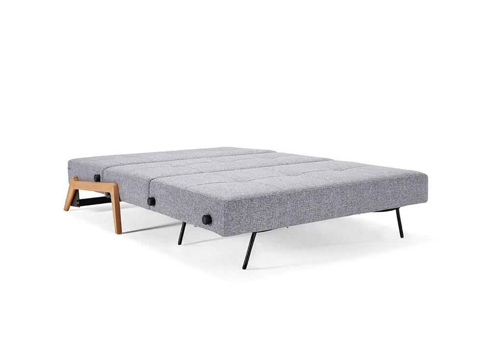 Divani letto divano letto cubed 140 da innovation - Divano letto larghezza 140 cm ...