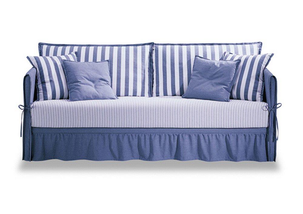 Divani letto divano letto fiordaliso da futura for Divano con letto estraibile
