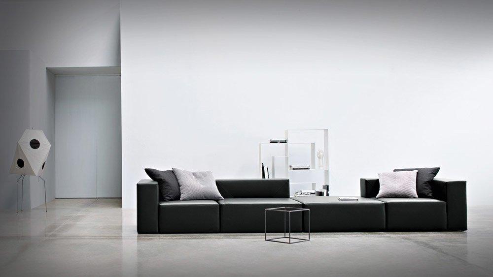 Divani quattro o pi posti divano 100x100gracco da busnelli for Divani trentino alto adige