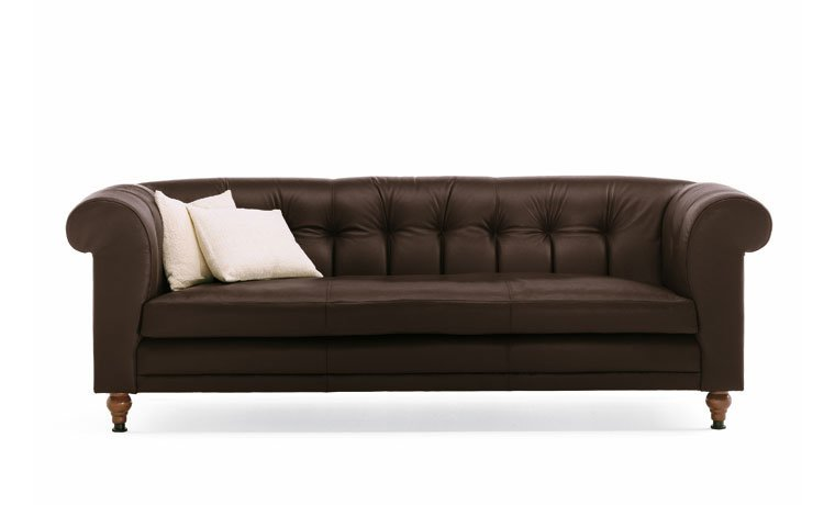drei sitzer sofas sofa chesterfield von de padova. Black Bedroom Furniture Sets. Home Design Ideas