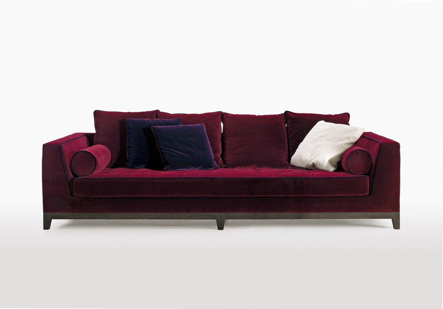 Divani tre posti divano lutetia da maxalto for Poltrone e sofa biella