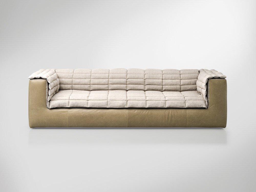 Divani tre posti divano duvet da arketipo for B b divani catalogo
