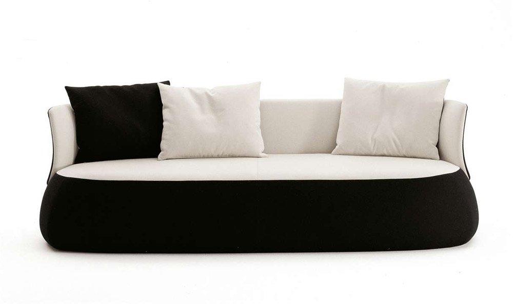 Divani tre posti divano fat sofa da b b italia for Comprare divano
