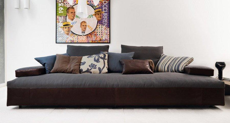 Divani tre posti divano glow in da d sir e - Divano 250 cm ...