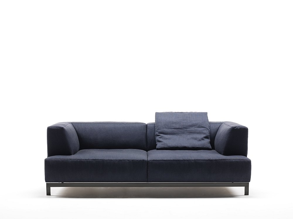 three seater sofas sofa metrocubo by living divani